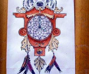 art, design, and dreamcatcher image