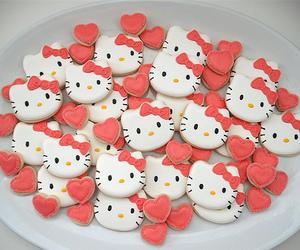 hello kitty, Cookies, and sweet image