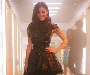 lucy hale, pretty little liars, and dress image