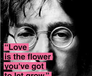 john, quote, and lennon image