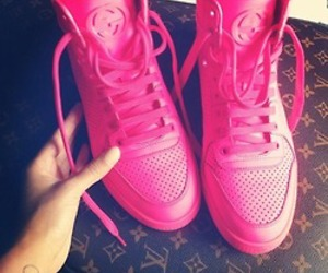 pink, shoes, and gucci image