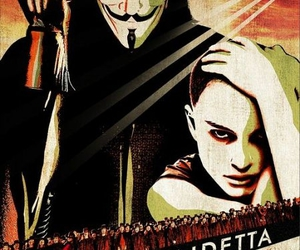 v for vendetta and movie poster image