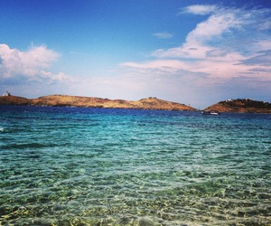 Island, summer, and sea image