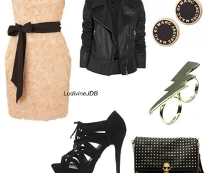 Alexander McQueen, bag, and black image