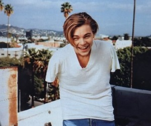 leonardo dicaprio, boy, and smile image