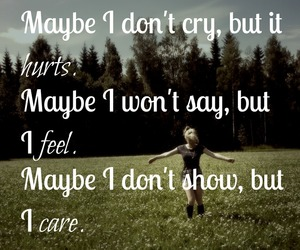 cry, hurt, and true image