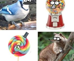 funny and regular show image