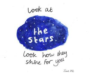 quote, stars, and coldplay image