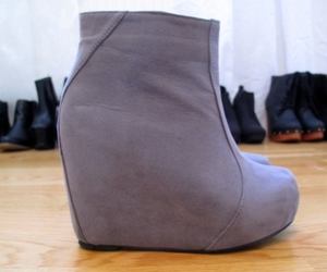 fashion, wedges, and shoes image