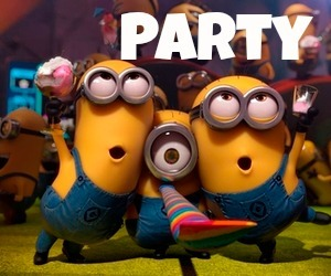 minions, movie, and party image
