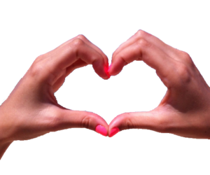 heart and transparent image