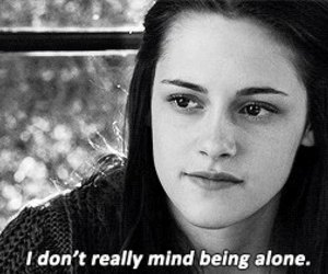 alone, twilight, and quote image