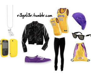 fashion, lakers, and purple image