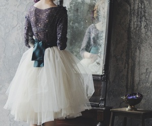 dress, mirror, and ballet image