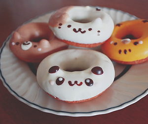 food, donuts, and cute image