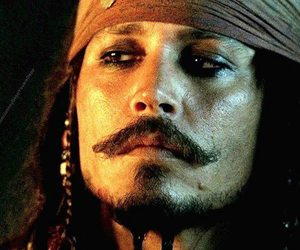 johnny depp and pirate image