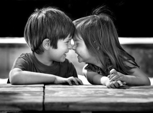 ბავშვების შეხედულება სიყვარულზე ♥