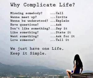 life, quote, and simple image