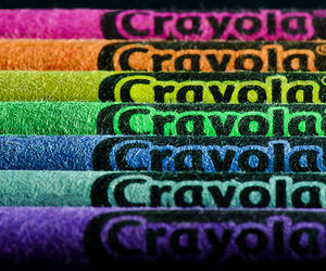 rainbow, color, and crayola image