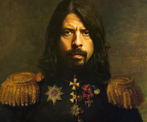 dave grohl, foo fighters, and art image