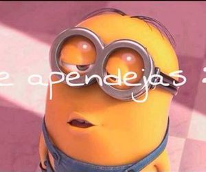 funny, cute, and minions image