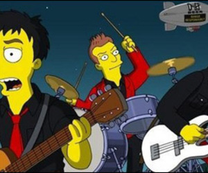 green day, simpsons, and billie joe image