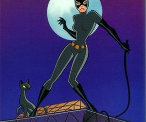 batman, cat, and the animated series image