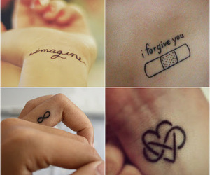 heart, love, and infinity image