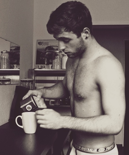 abs, coffee, and food image