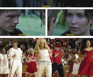 harry potter, high school musical, and together image