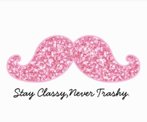 class, classy, and mustache image