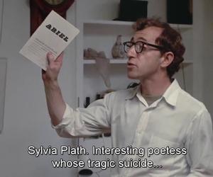 woody allen, sylvia plath, and suicide image