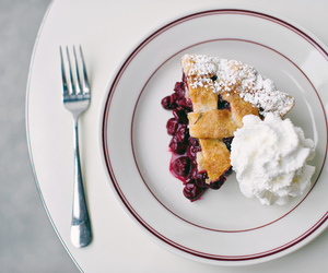 food, yummy, and pie image