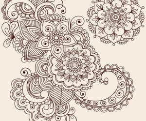 mandala and draw image