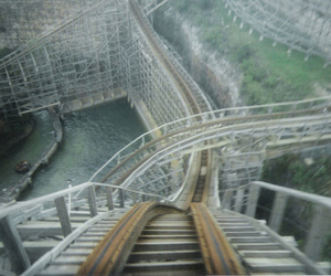 rollercoaster, Roller Coaster, and fun image