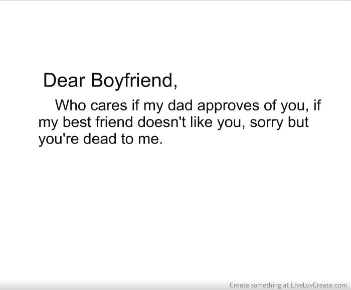Dear Boyfriend Letter Picture by Reality Sucks Sometimes
