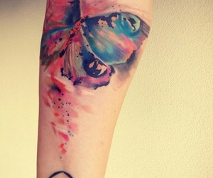 abstract, inked, and tattoo image