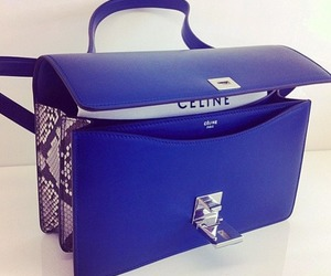 bag, celine, and blue image