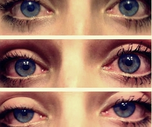blue, weed, and eyes image