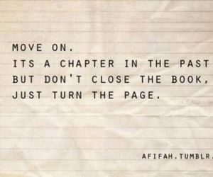 book, past, and quote image