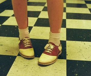 shoes, vintage, and retro image