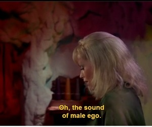 blonde, quote, and ego image