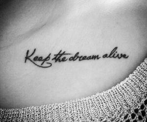 tattoo, Dream, and alive image