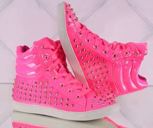 pink, shoes, and snekers image