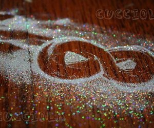 love, infinity, and sparkle image