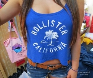 girl, hollister, and shorts image