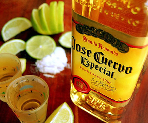 tequila, jose cuervo, and drink image