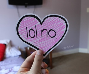 heart, lol, and tumblr image