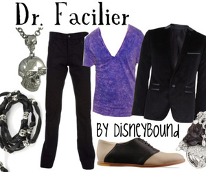 dr. facilier and disney bound image