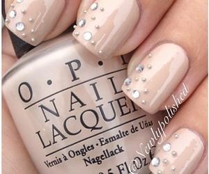 nails, nail art, and opi image